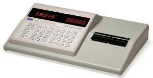 Example of a typical LCR meter as used in laboratories and production environments, etc. This one manufactured by Thurlby Thandar Instruments