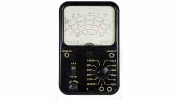 Typical analogue multimeter / test meter