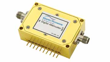 Typical PIN diode switched / programmable RF attenuator - this one is manufactured by Atlantic Microwave