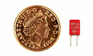 Polyester Capacitor | Mylar Film PET | Electronics Notes