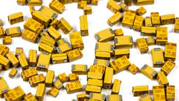 SMD tantalum capacitor selection