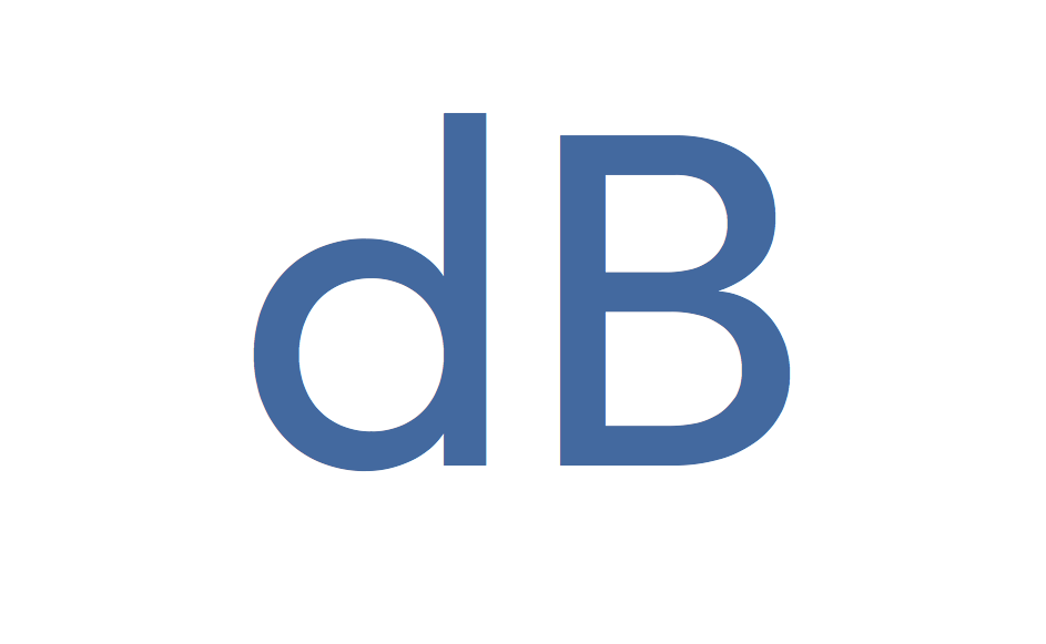 Decibel abbreviation: dB