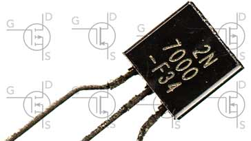 MOSFET with FET circuit symbols