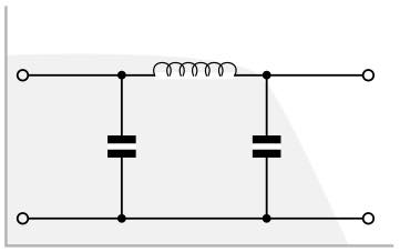 Generic 3 pole LC RF low pass filter