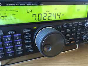 Ham radio transceiver that uses the superheterodyne principle