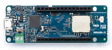 LoRa microcomputer with LoRa functionality