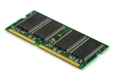 Printed circuit board containing computer memory