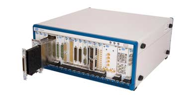 Pickering Test PXI chassis with modules
