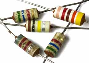 Carbon composition resistor selection