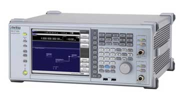 Typical RF radio frequency signal generator