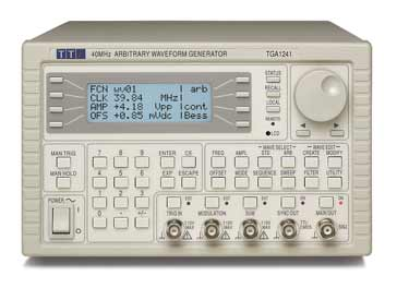 An arbitrary waveform generator, AWG