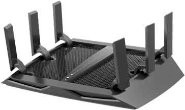 Typical modern WiFi router that uses MIMO technology: Netgear R8000