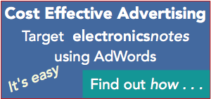 Advertise on Electronics Notes